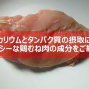 鶏むね肉の紹介見出し