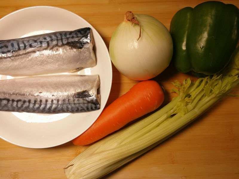 鯖の南蛮の材料一覧