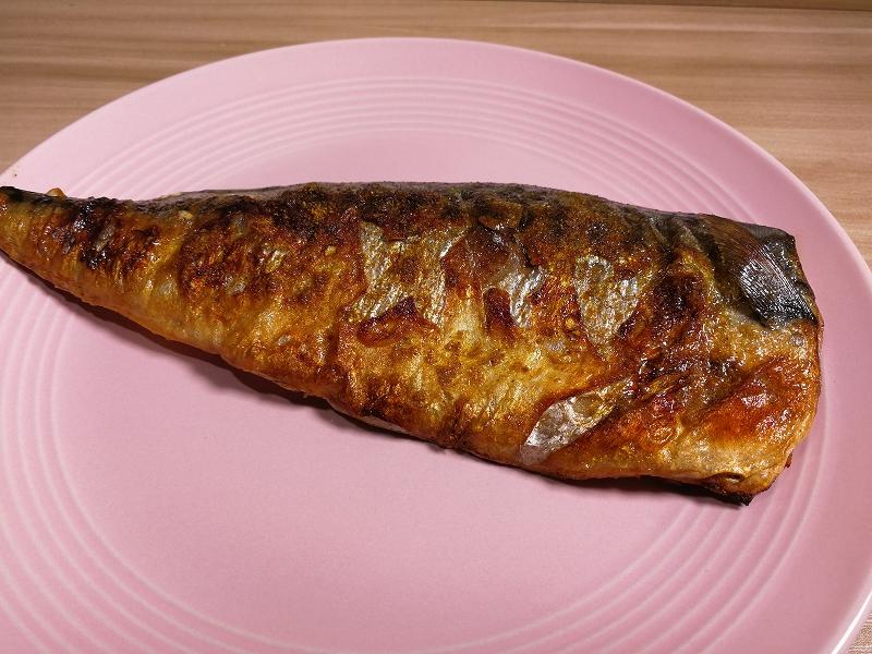 カレーパウダー焼き鯖完成
